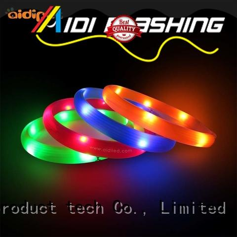 AIDI glowing personalized reflective dog collars factory for pet