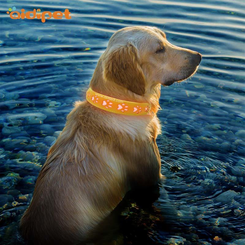 AIDI-Best Waterproof Lighted Dog Collars Aidi-c20 Wholesale Pet-1