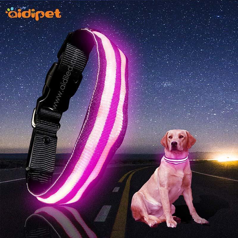 AIDI-High-quality Flashing Dog Collar | Aidi-c16 Custom Super Bright
