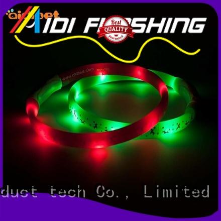 glowing glowing dog collar factory for park