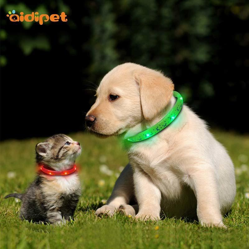 AIDI-Led Light Up Dog Collar Led Fashionable Dog Collar-2