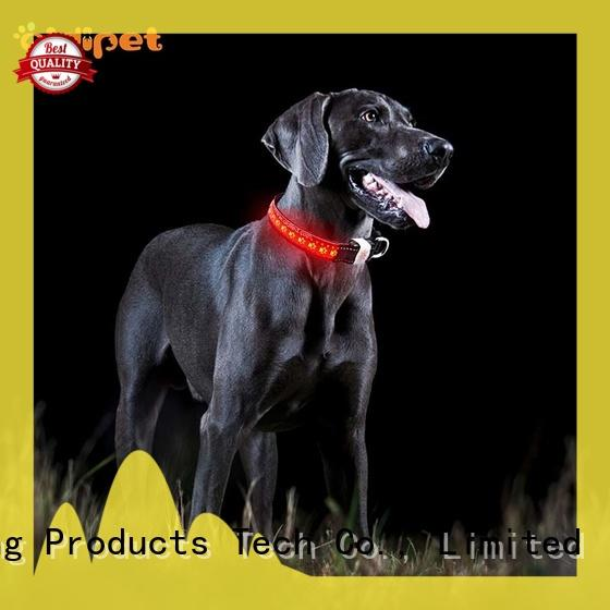 AIDI reflective reflective dog collars factory for pet