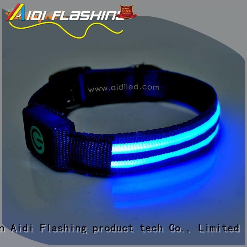 led light for dog collar style waterproof AIDI Brand company