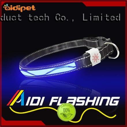 AIDI Brand collars safety lights led light for dog collar