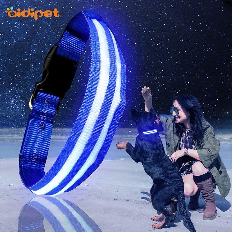 AIDI-High-quality Flashing Dog Collar | Aidi-c16 Custom Super Bright-2