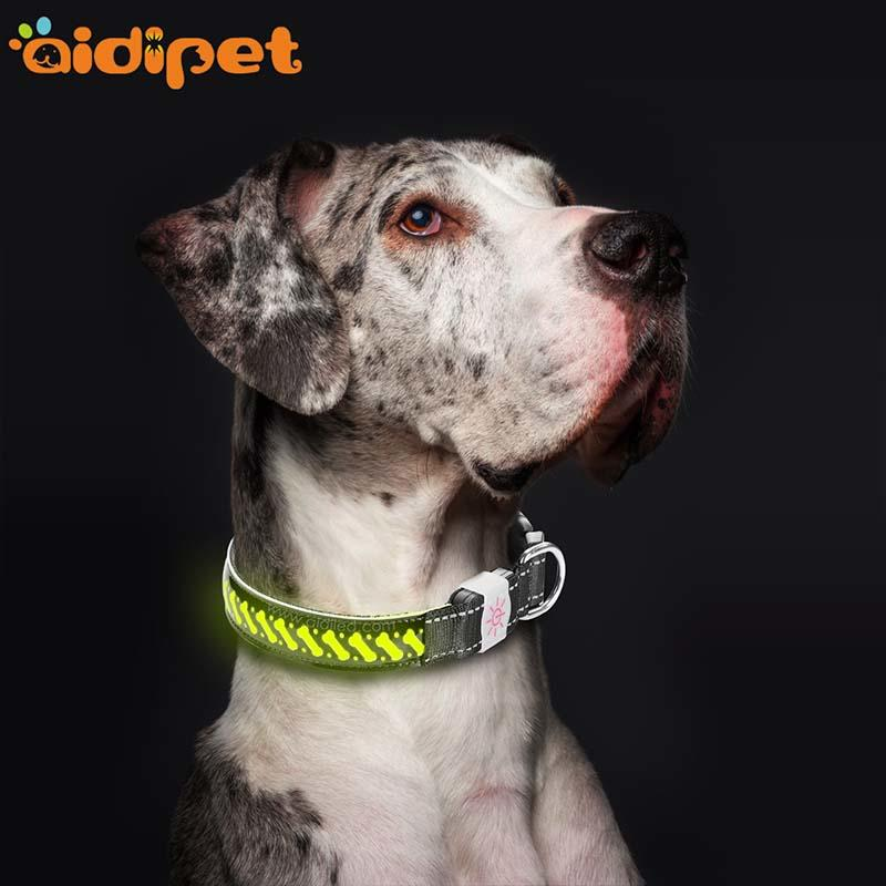 -Manufacture | Aidi-c14 Rechargeable Flashing Led Dog Collar-1