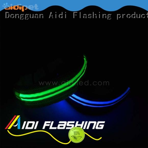 led light for dog collar colorful charms Bulk Buy waterproof AIDI