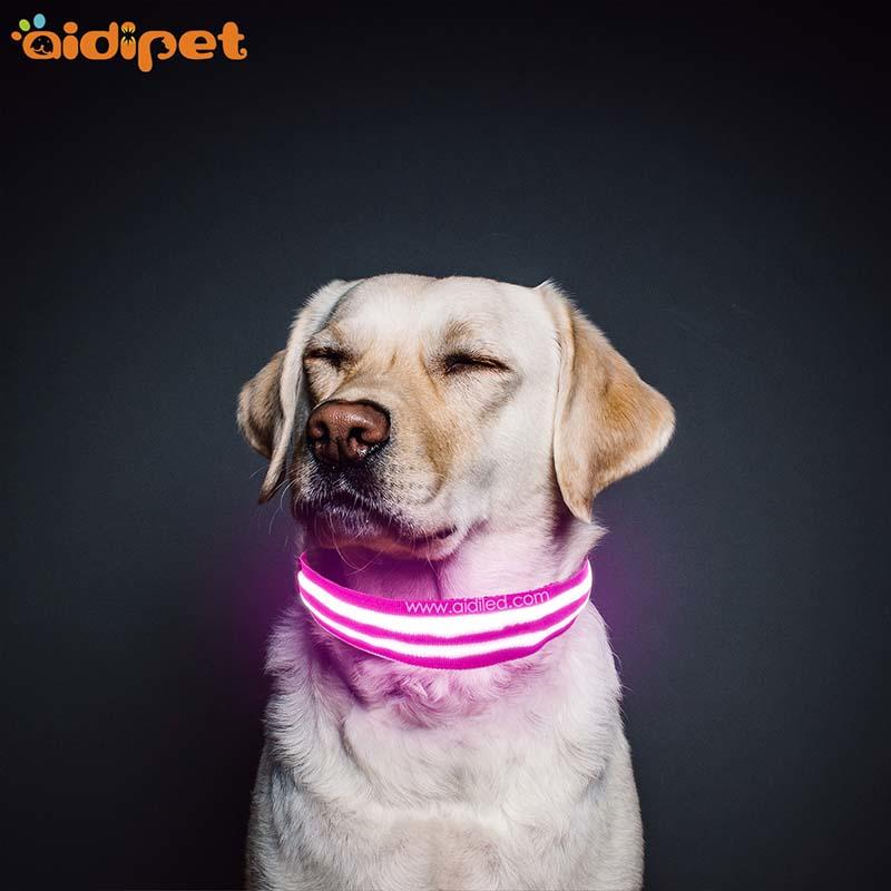 AIDI-Find Dog Collar Lights Waterproof Dog Collars That Light Up At Night