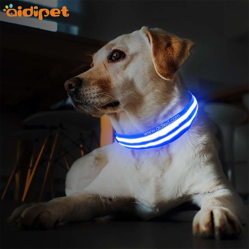 AIDI-Find Dog Collar Lights Waterproof Dog Collars That Light Up At Night-2