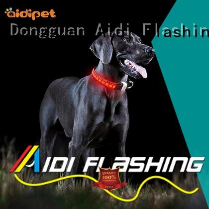 AIDI best led dog collar factory for walking