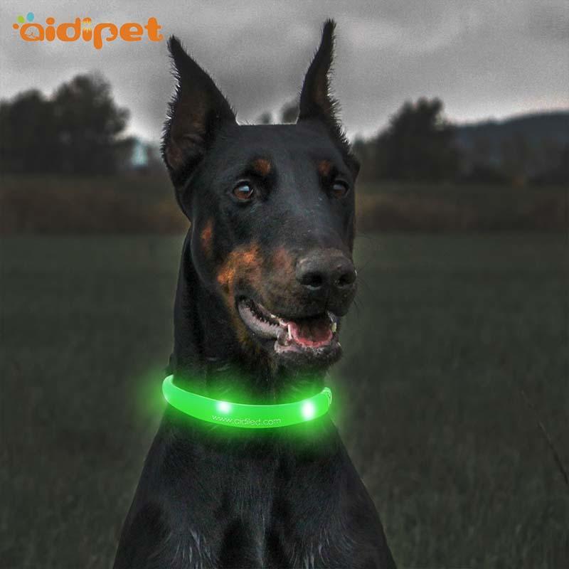 AIDI-Find Led Dog Collars Aidi-c5 Rechargeable Pet Led Dog Collar-1