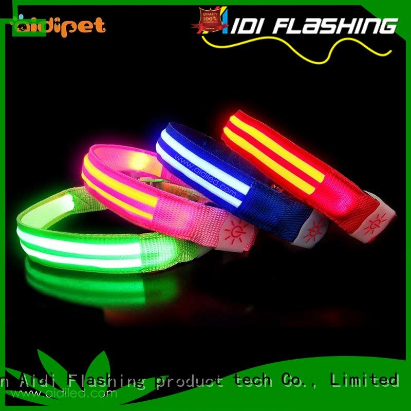 led dog safety collar bright for park AIDI
