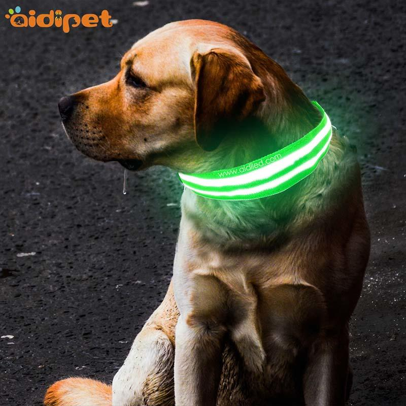 AIDI-Find Dog Collar Lights Waterproof Dog Collars That Light Up At Night-1