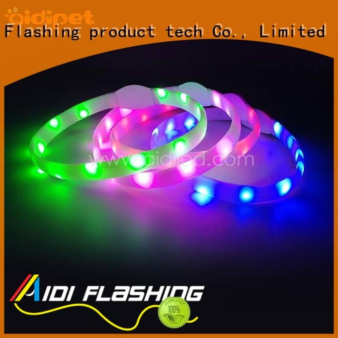 led light for dog collar for outdoors AIDI