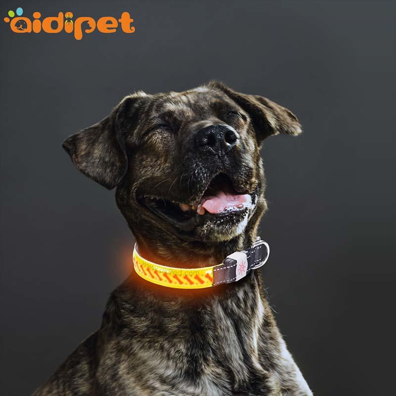 -Manufacture | Aidi-c14 Rechargeable Flashing Led Dog Collar