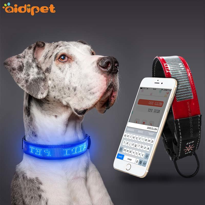 -High-quality | Bluetooth Connection Led App Controlled Pet Collarworld-2