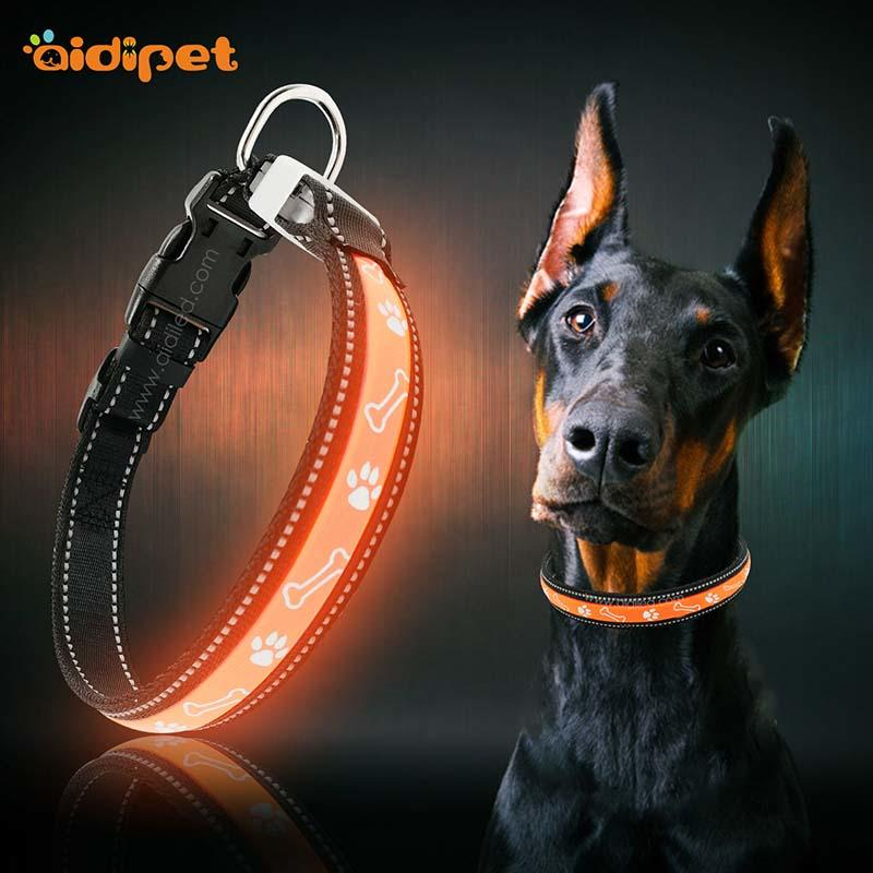 AIDI-Best Led Dog Collar Waterproof Aidi-c19 2018 Trending Products
