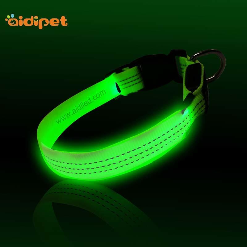 AIDI-Find Illusion Dog Collar Flashing Led Dog Collar Pendant Light From-2