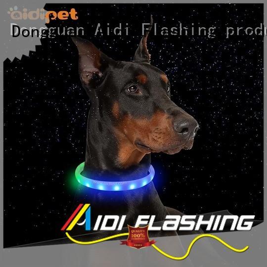 Quality AIDI Brand led light for dog collar pet