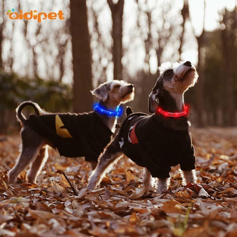 AIDI-Led Light Up Dog Collar Led Fashionable Dog Collar-1