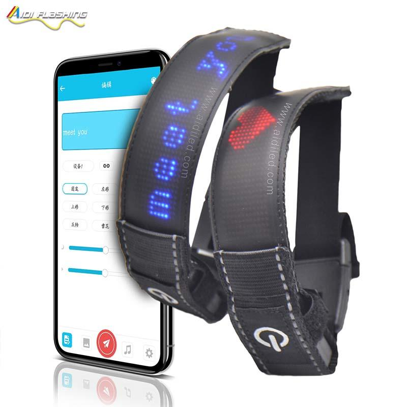 AIDI adjustable led armband joggen for sports-2
