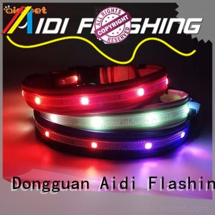 best led dog collar lighted for pet AIDI