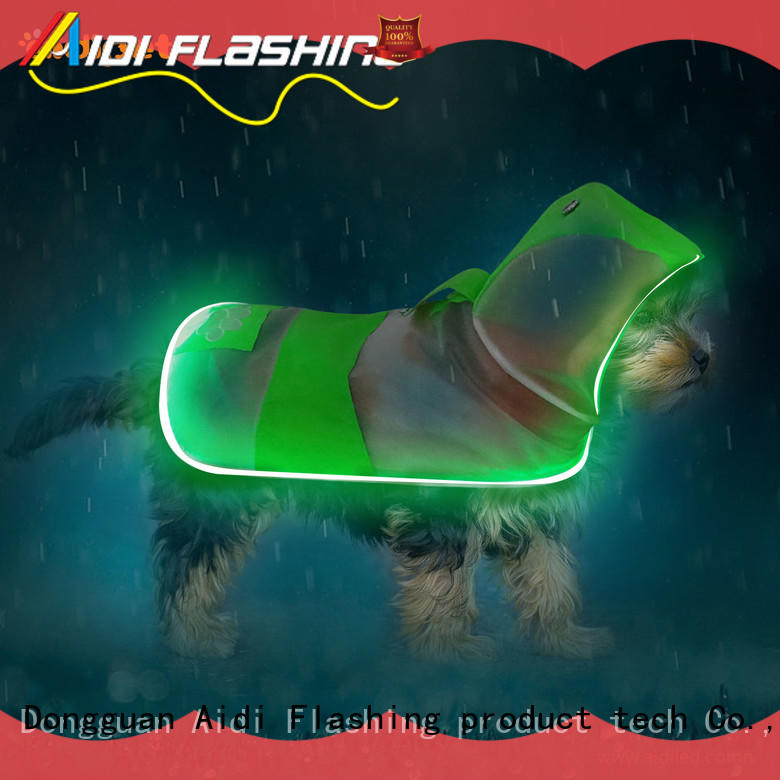 AIDI flashing reflective dog harness from China for pet