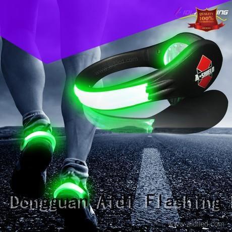 adjustable night runner led shoe clip design for kids