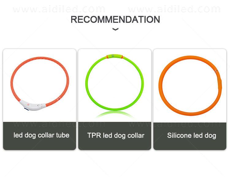AIDI remote night dog collar design for pet-2