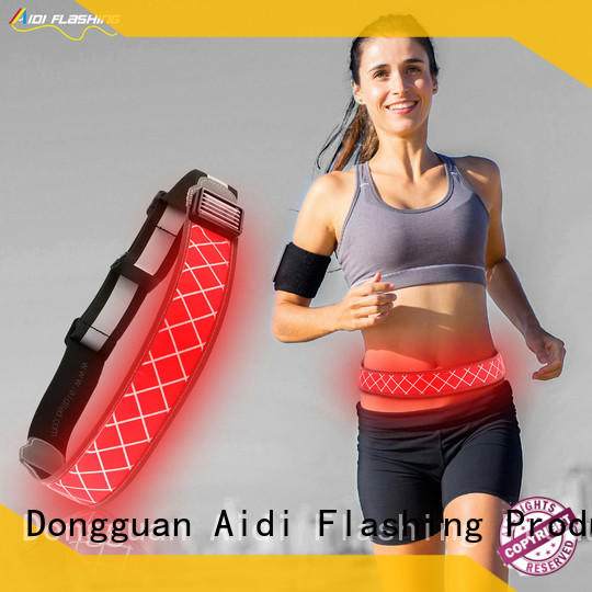 reflective running waist belt customized for children