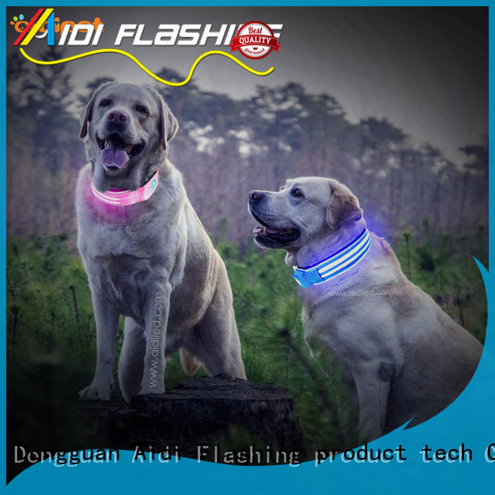 AIDI glowing dog collar inquire now for pet