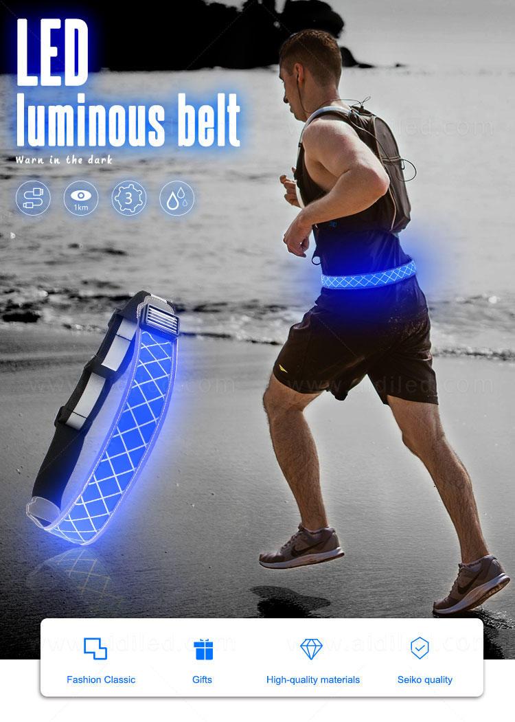 AIDI green reflective waist belt customized for woman-2