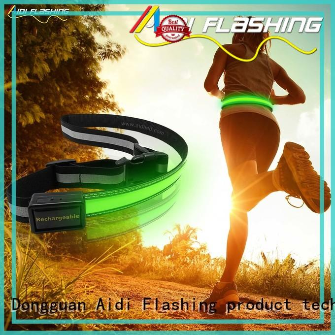 AIDI jogging waist belt manufacturer for sports