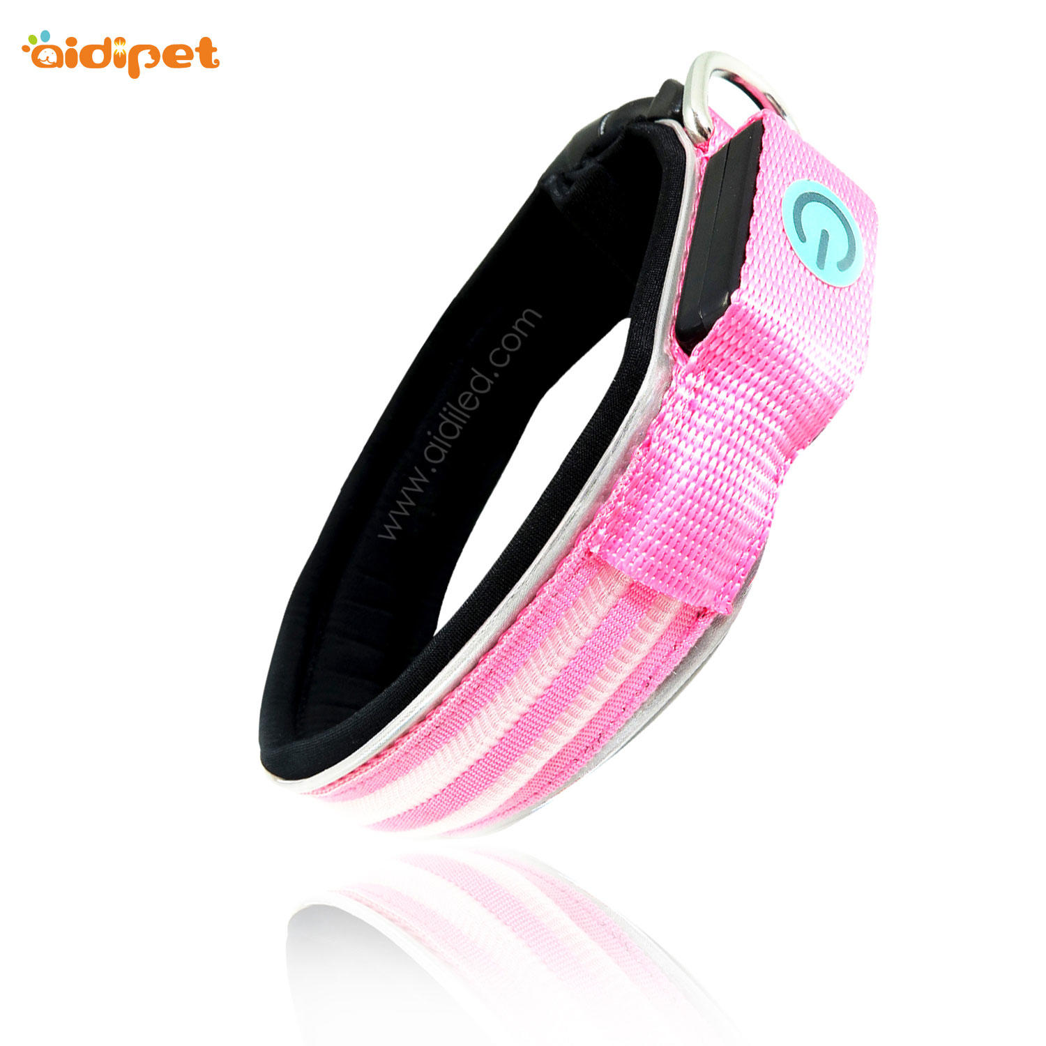AIDI-C21 Wholesale Pet  Led Dog Collar Safety Light