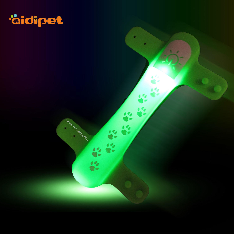 led light up pet collar cover light AIDI-M2