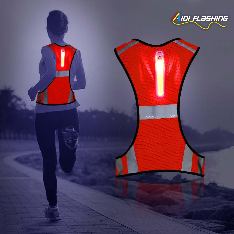 AIDI light reflect reflective vest manufacturer for woman-AIDI-img-1