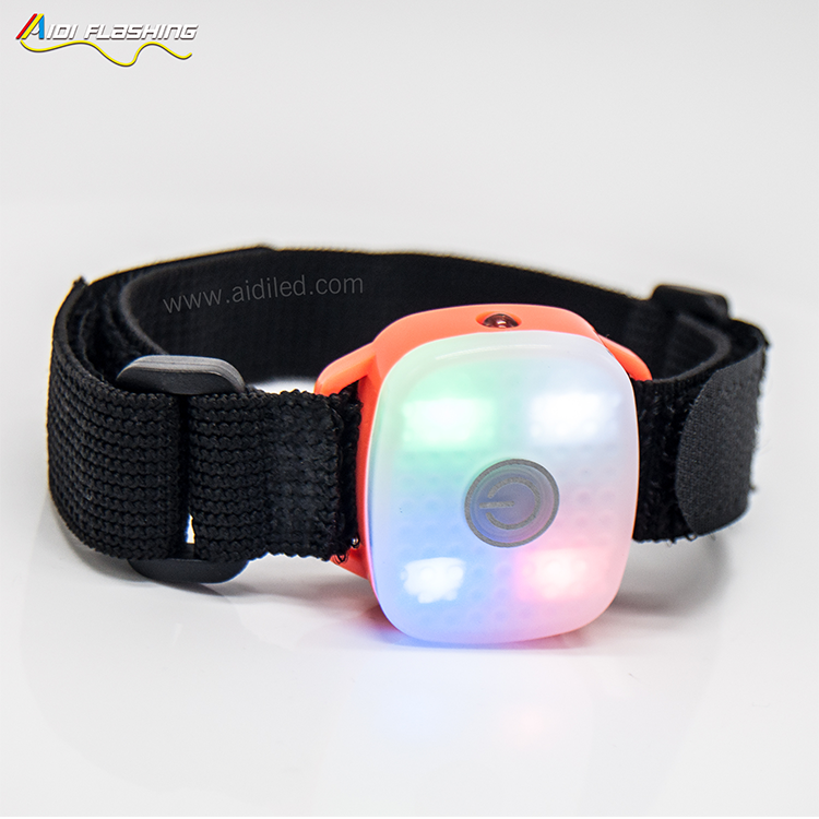 -Fashionable Safety Led Head Sweat Band Aidi-s19-shenghong