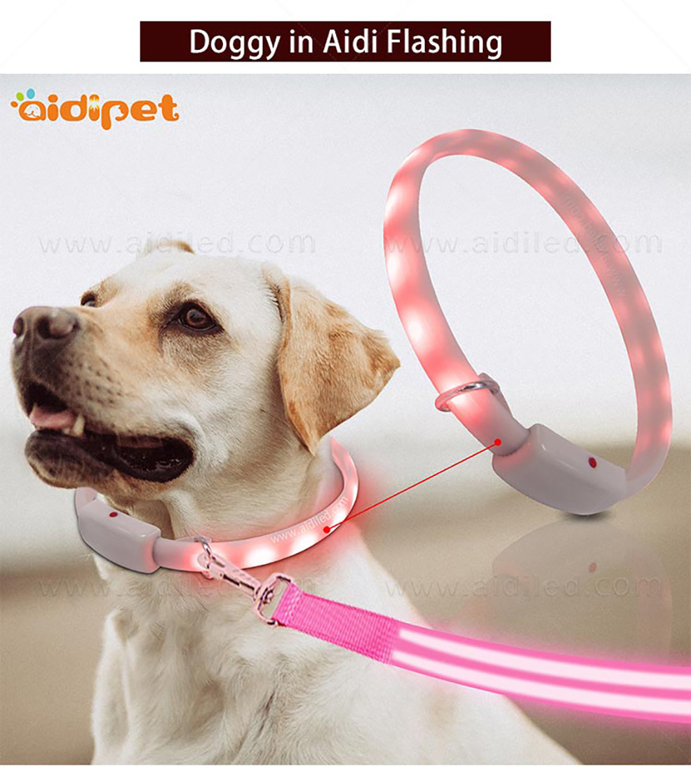 AIDI-Find Glowing Dog Collar Dog Collars With Lights For Night-9