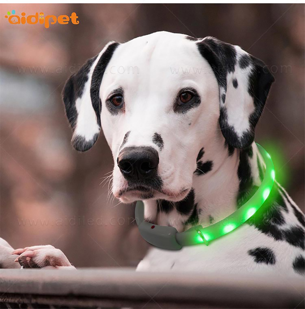 AIDI-Find Glowing Dog Collar Dog Collars With Lights For Night-10
