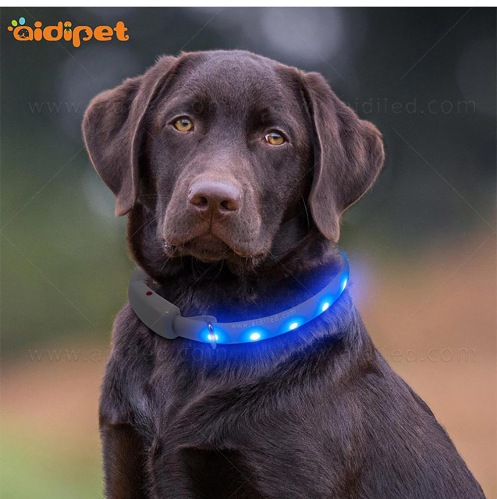 AIDI printing illusion dog collar inquire now for pet-13