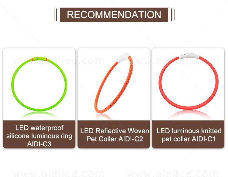 product-AIDI-AIDI-C5 Rechargeable Pet Led Dog Collar-img