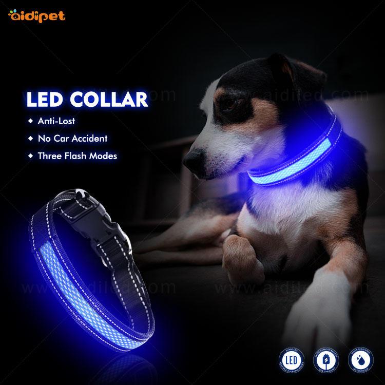 AIDI-C11 LED shining dog collar