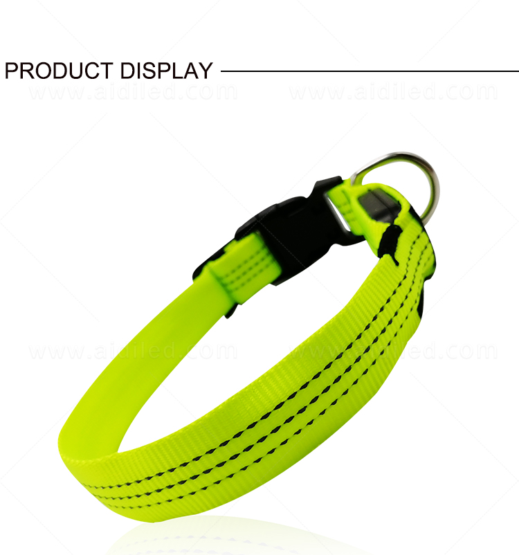 filament led dog collar waterproof with good price for pet-7