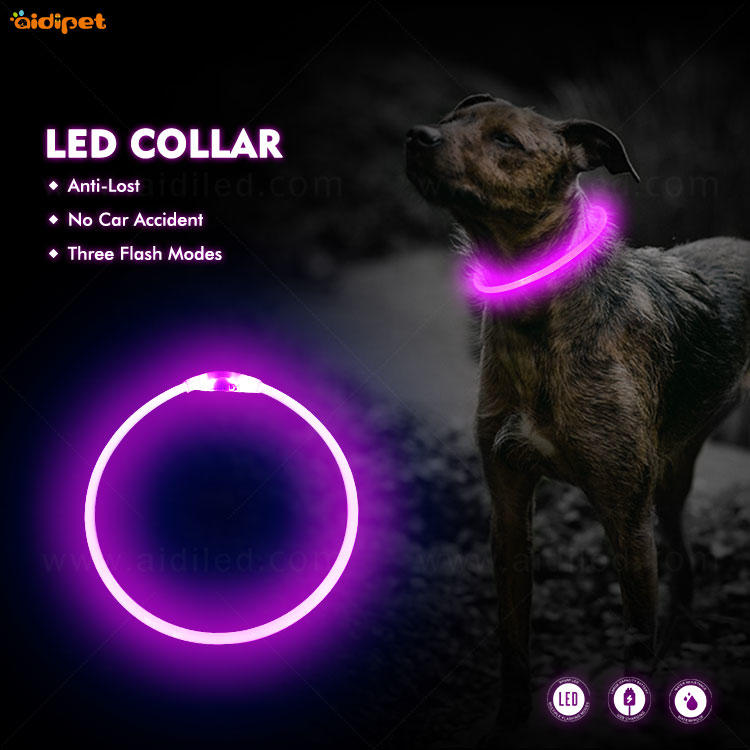 AIDI-C1 LED dog collar