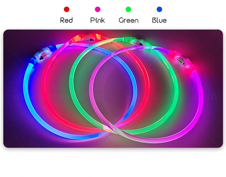 AIDI flashing led dog collar pendant light with good price for park-9