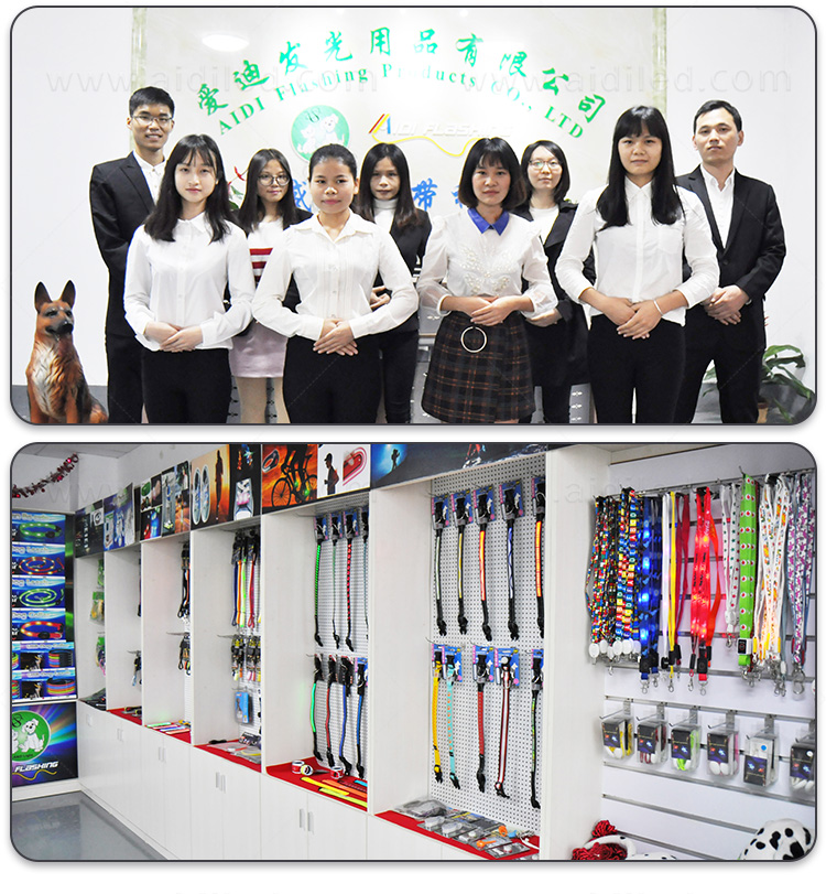 reflective lighted dog collars waterproof factory for park-17