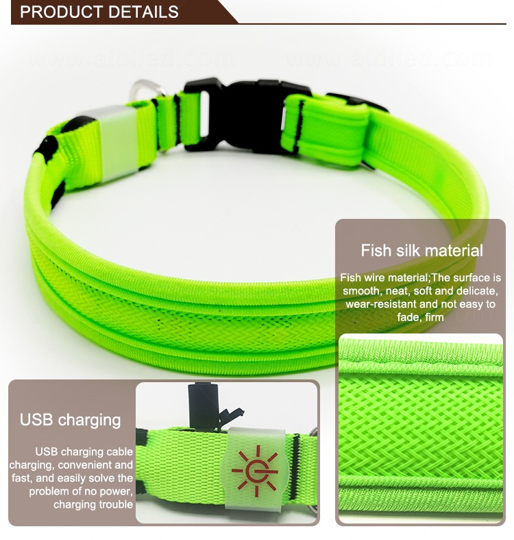 AIDI remote led dog collars design for outdoors-9