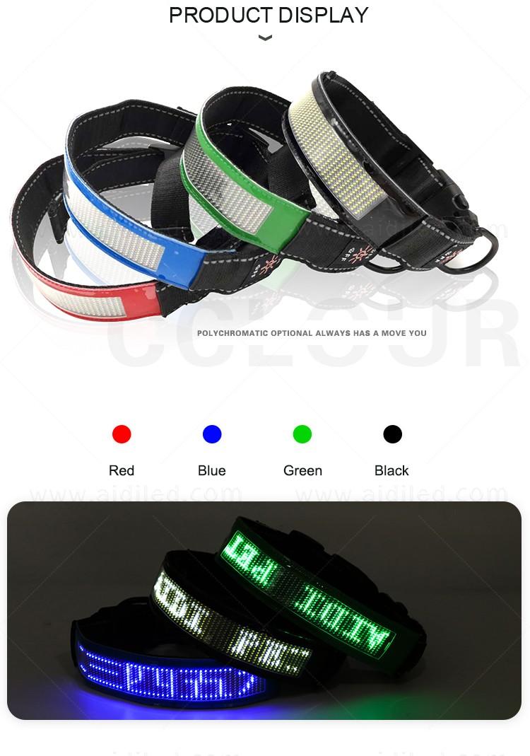 product-AIDI-Bluetooth remote controlled Led pet dog collarWorld verison AIDI-C24-img