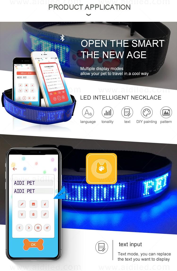 durable led collar light factory for walking-6