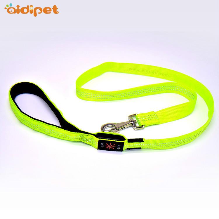 AIDI-L5 Reflective Stitching Led Dog Leash